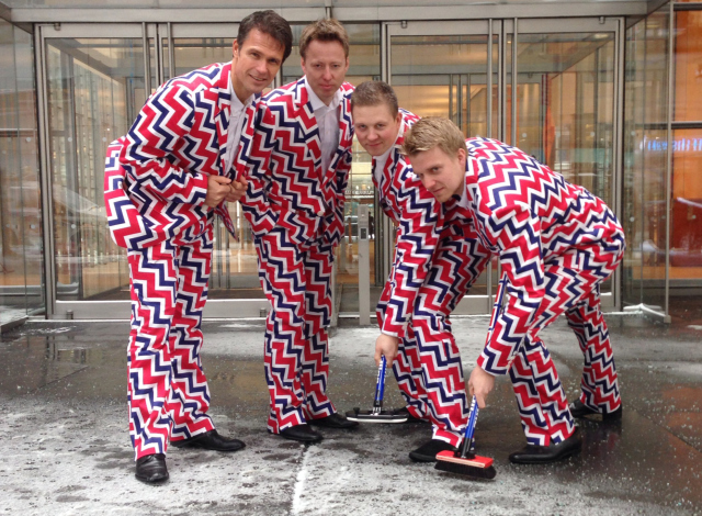AP NORWAY'S OLYMPIC CRAZY PANTS S OLY CUR USA